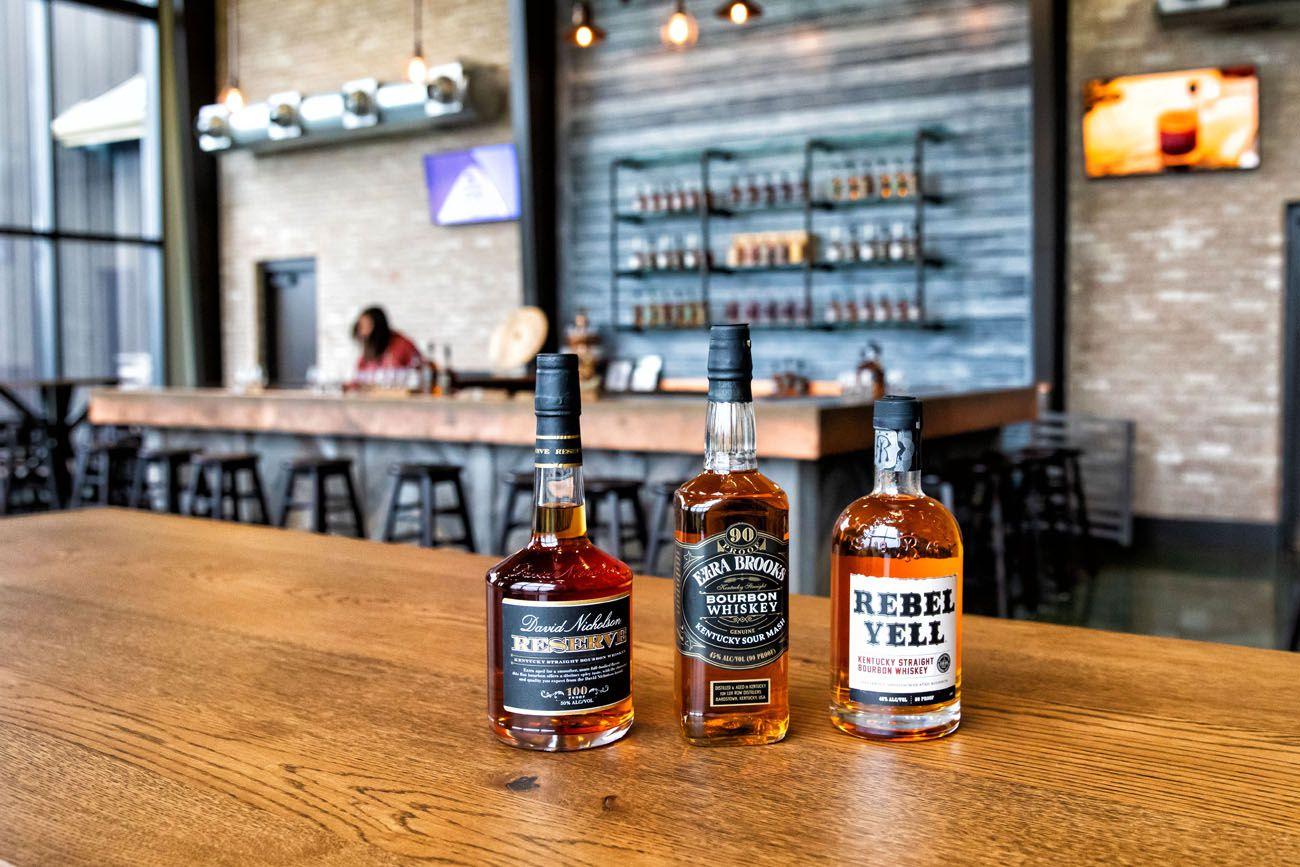 Lux Row Kentucky Bourbon Trail itinerary