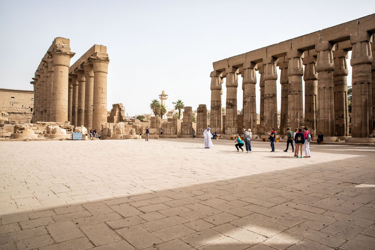 Amenhotep Court Luxor
