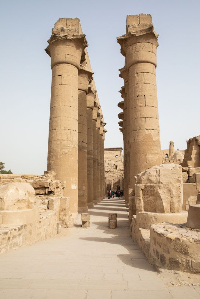 Columns Luxor Temple
