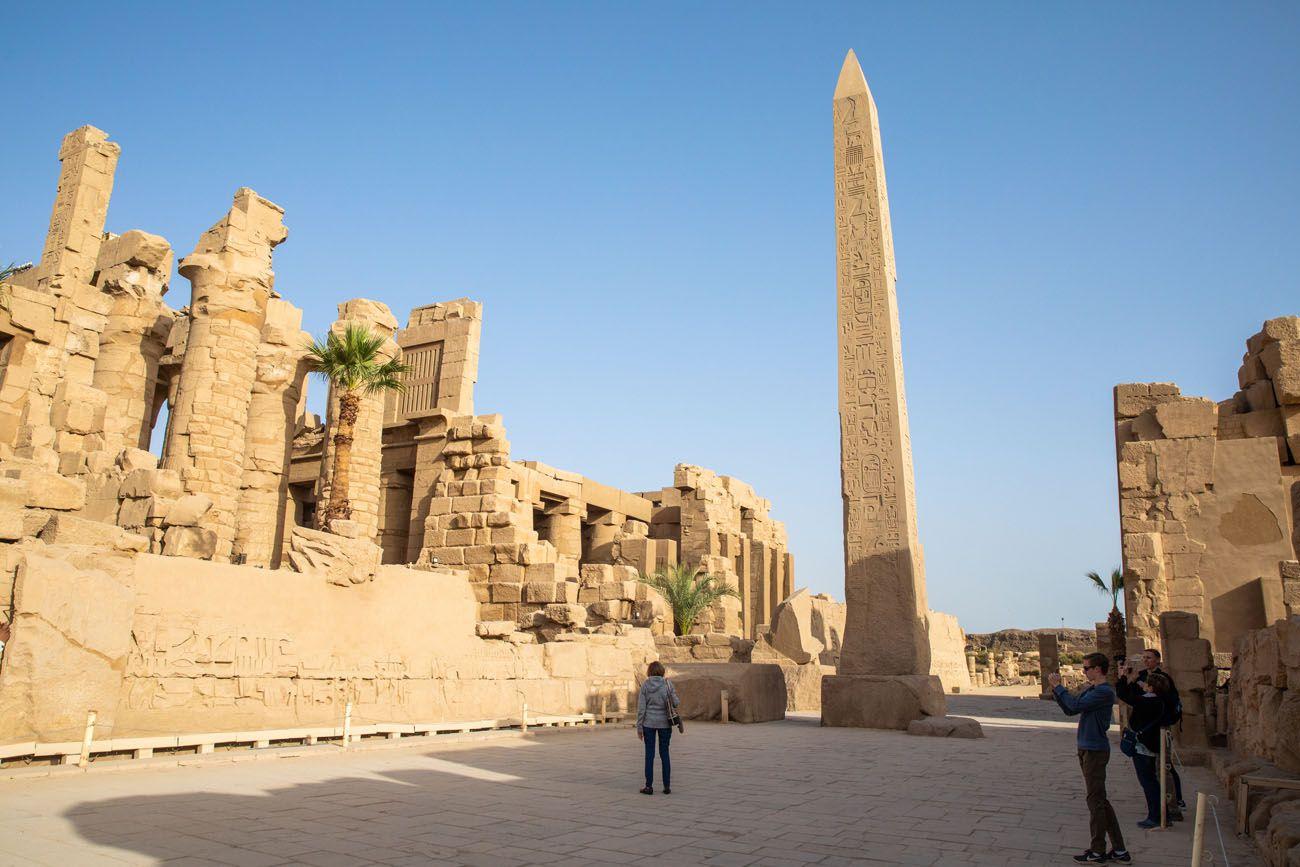 East Bank of Luxor Karnak