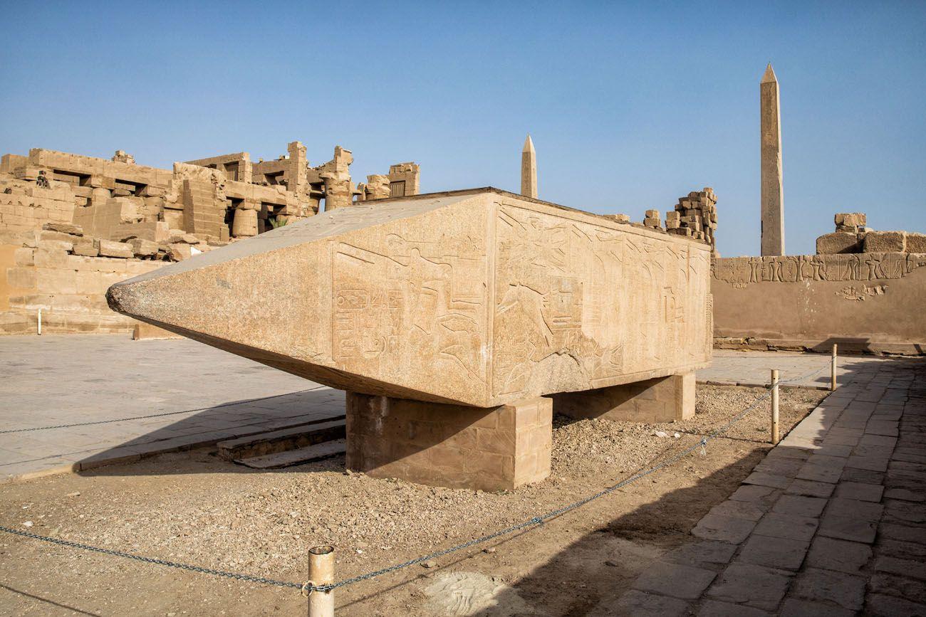 Hatshepsut Obelisk East Bank of Luxor