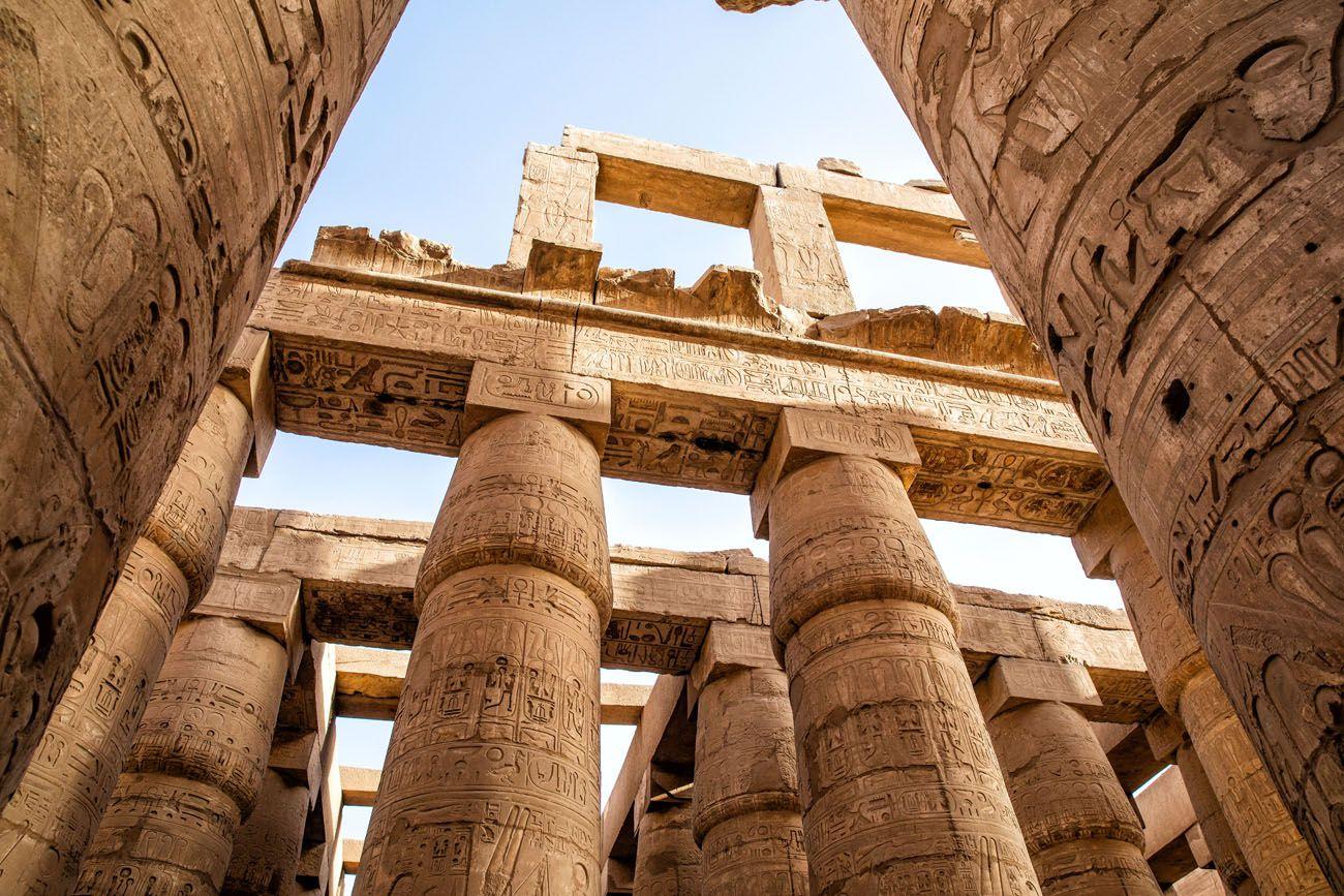 Hypostyle Hall Karnak Temple