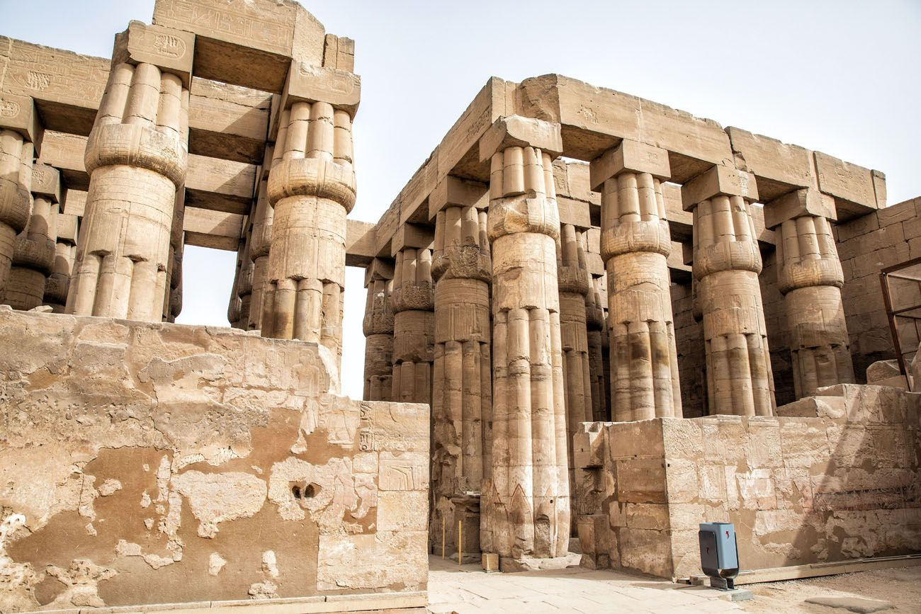 Hypostyle Hall Luxor Temple
