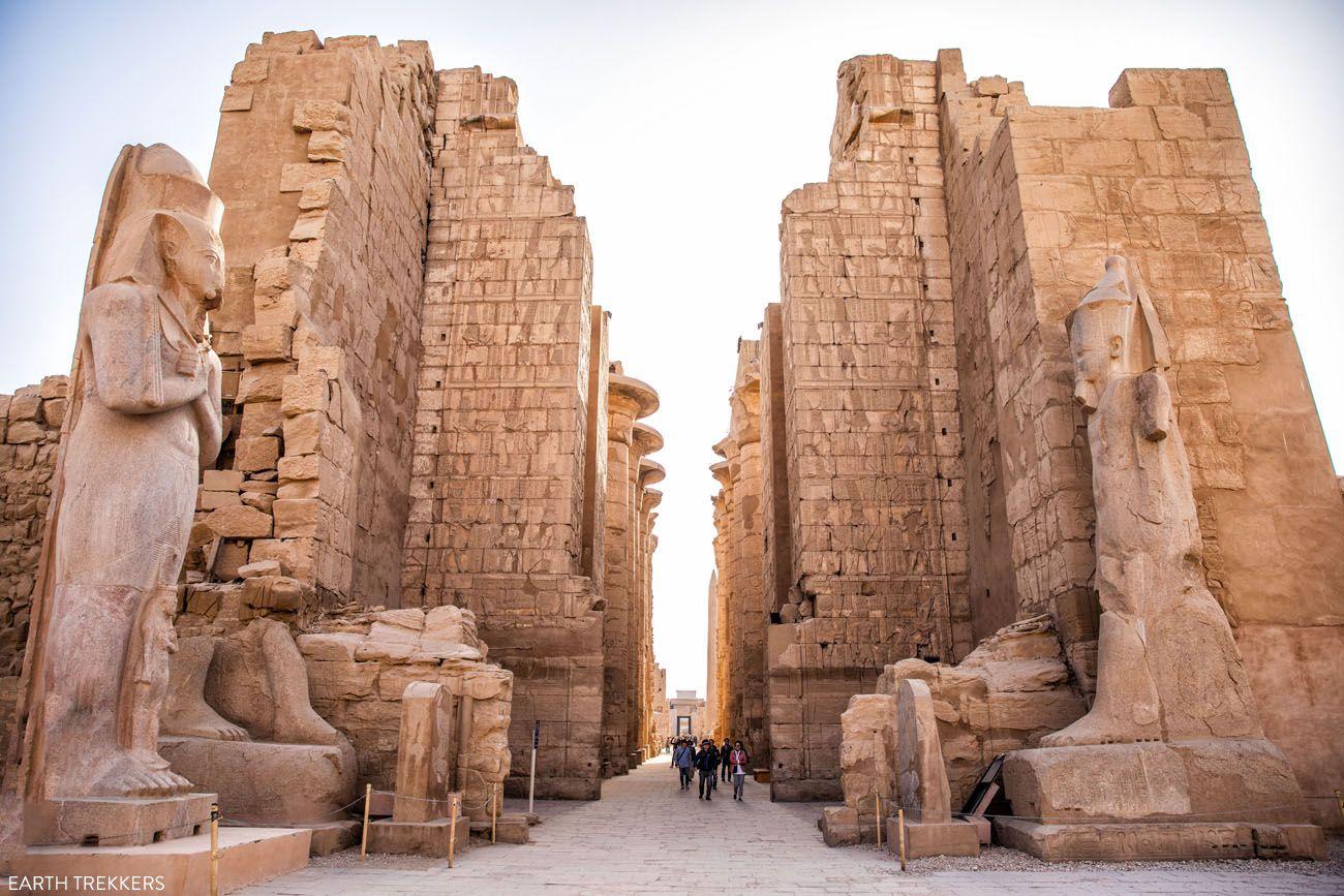 Inside Karnak Temple East Bank of Luxor