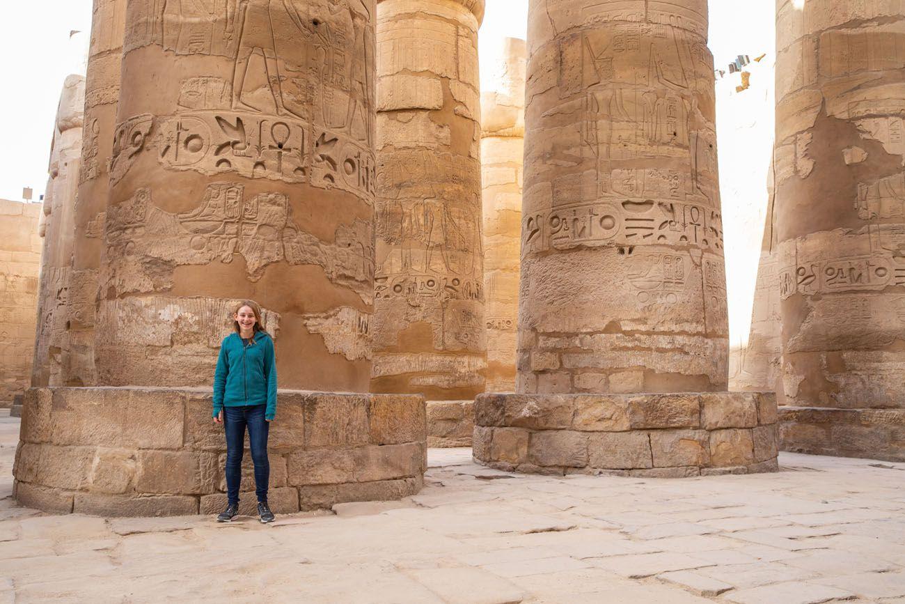 Kara Rivenbark in Luxor