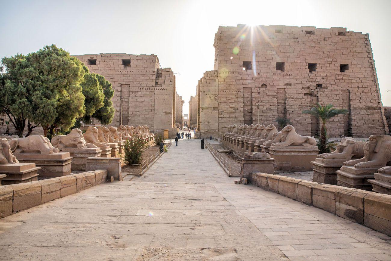Karnak Temple East Bank of Luxor