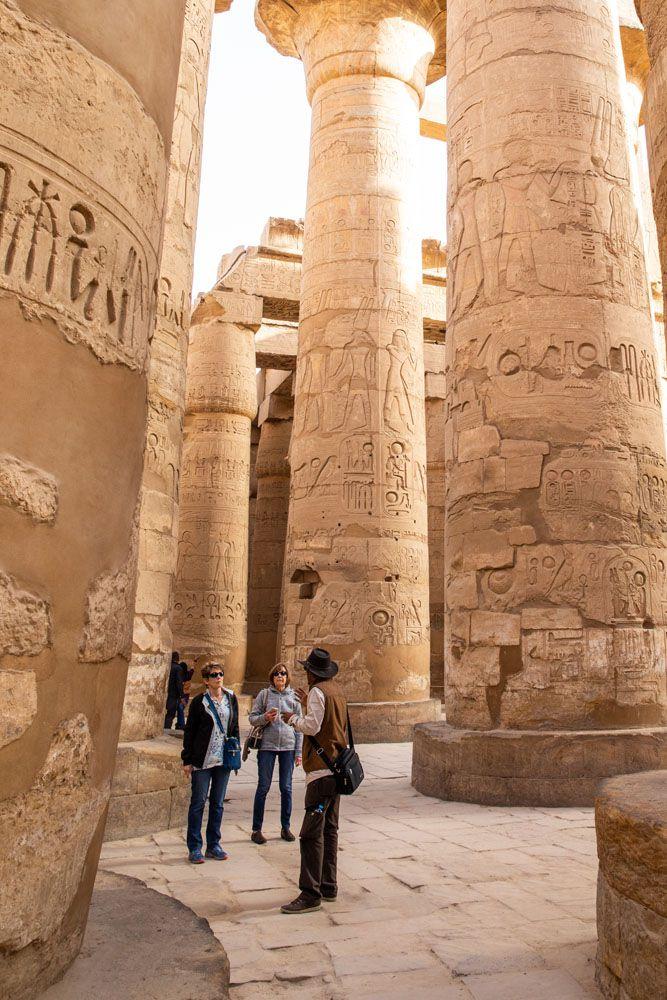 Karnak with Ali East Bank of Luxor