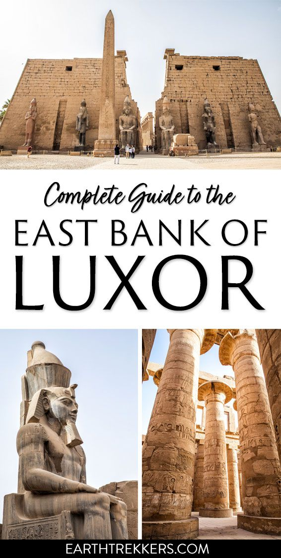 Luxor Egypt East Bank Complete Guide