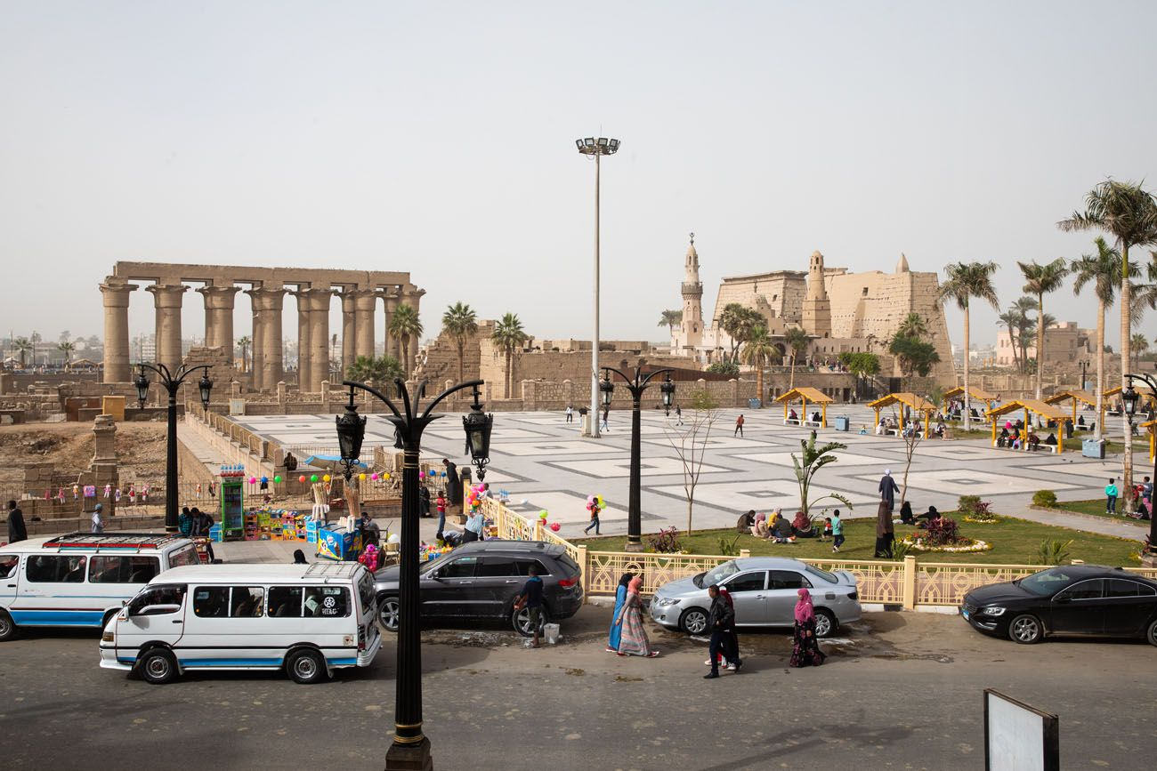 Luxor Temple View