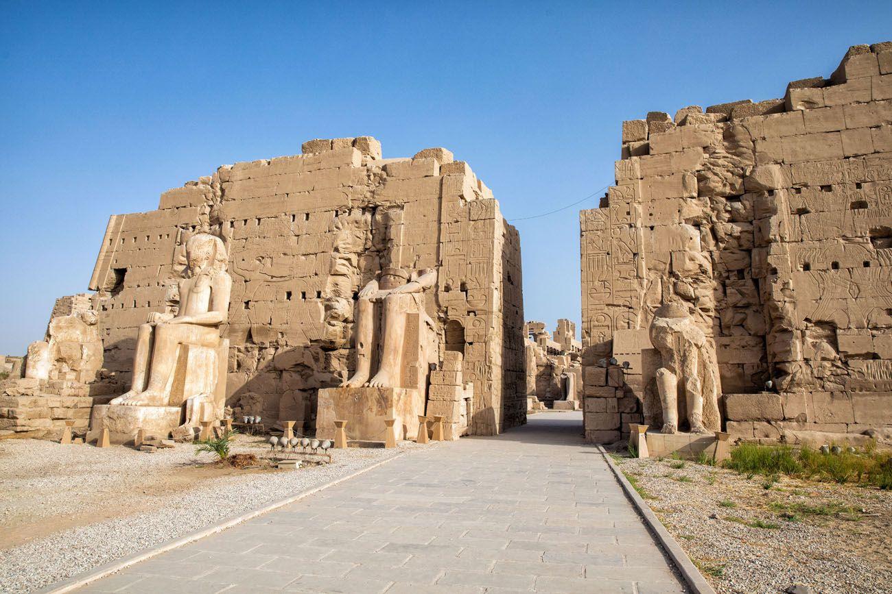 Pylon Karnak East Bank of Luxor