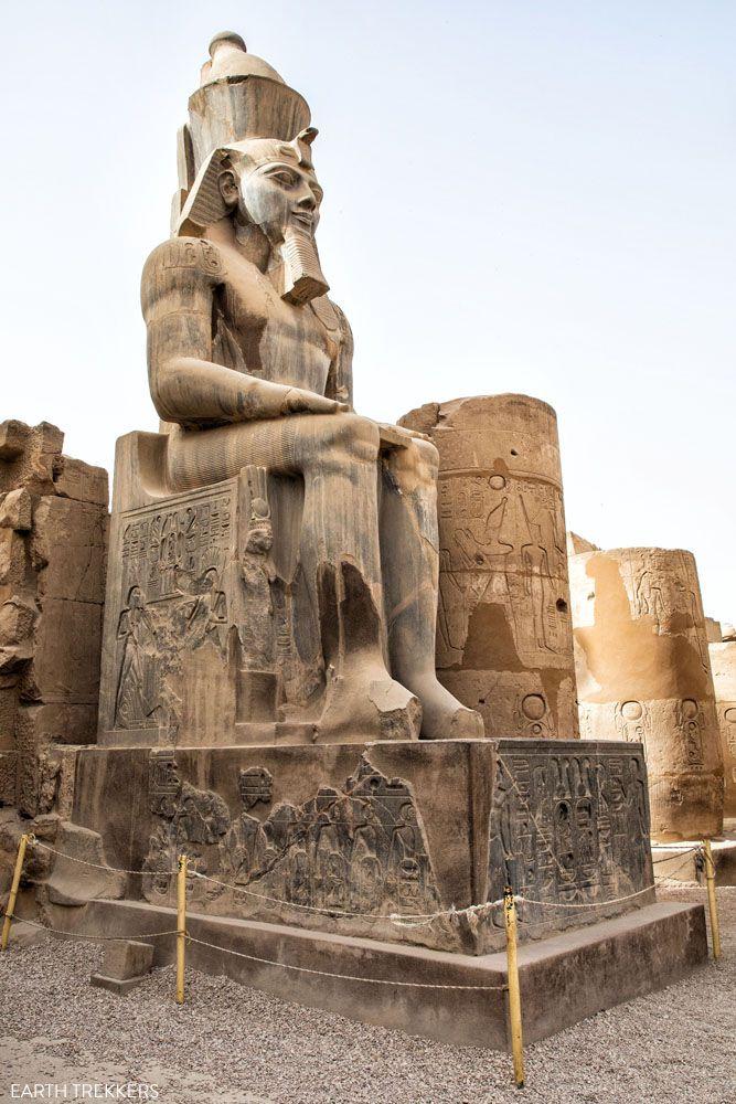Ramesses Statue Luxor Temple
