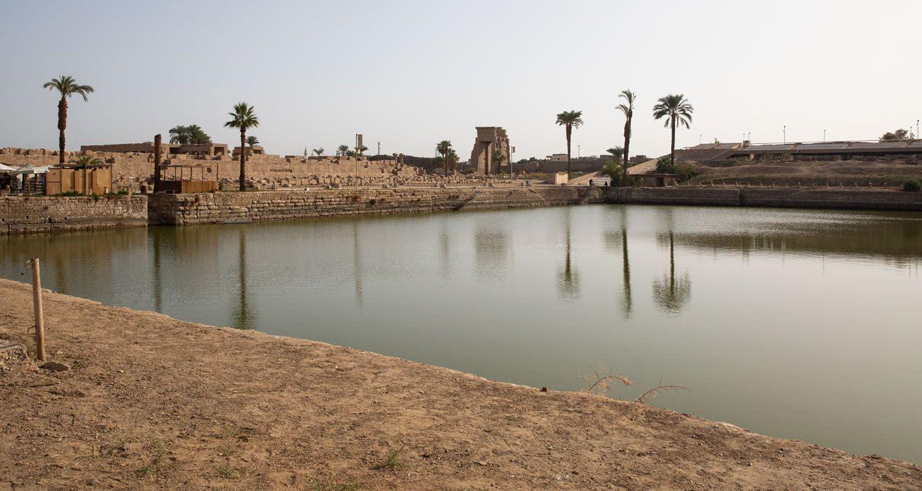 Sacred Lake East Bank of Luxor