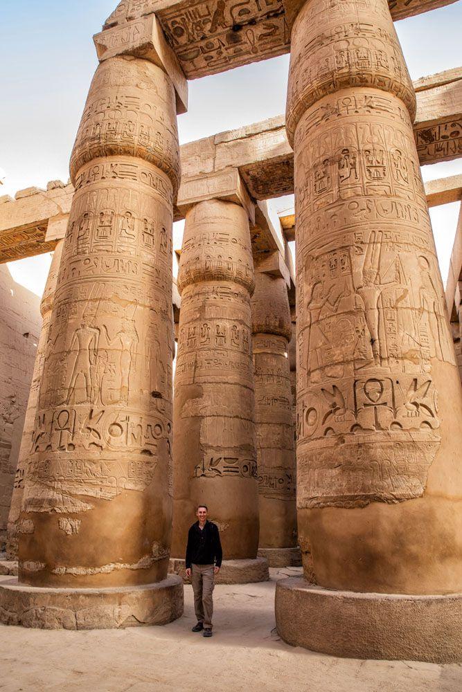 Tim Rivenbark in Luxor