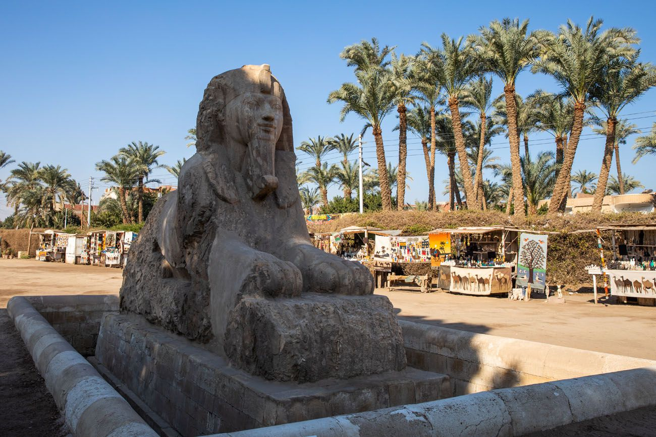 Alabaster Sphinx Dahshur Memphis and Saqqara