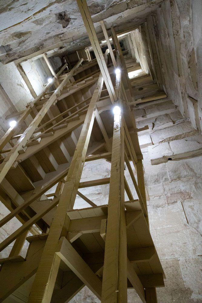 Bent Pyramid Stairs