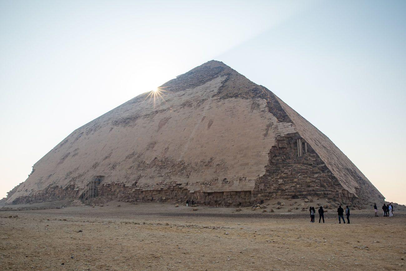 Bent Pyramid Sunrise