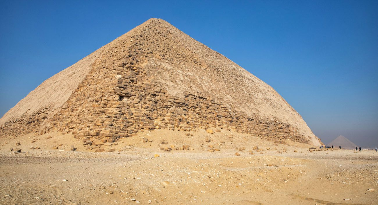 Bent Pyramid with Red Pyramid