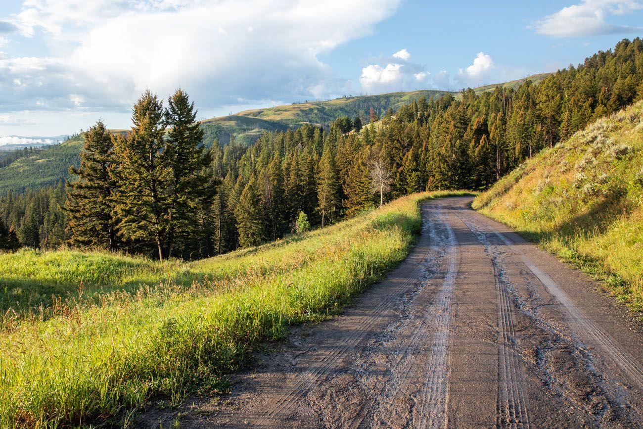 Blacktail Plateau Yellowstone Itinerary