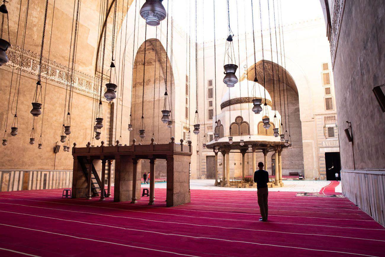 Mosque-Madrassa of Sultan Hassan Interior