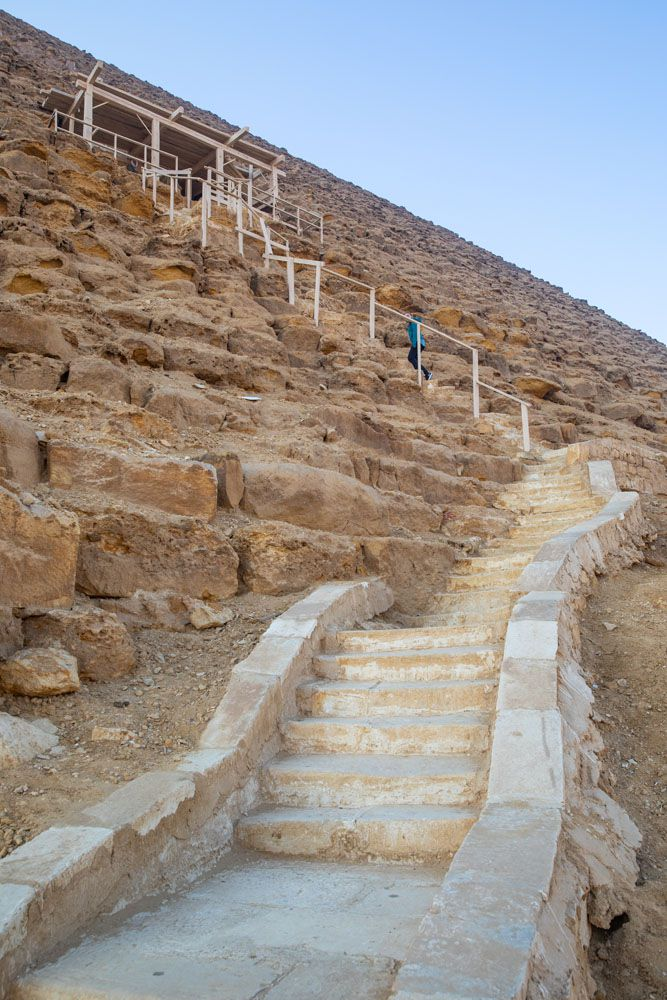 Red Pyramid Staircase