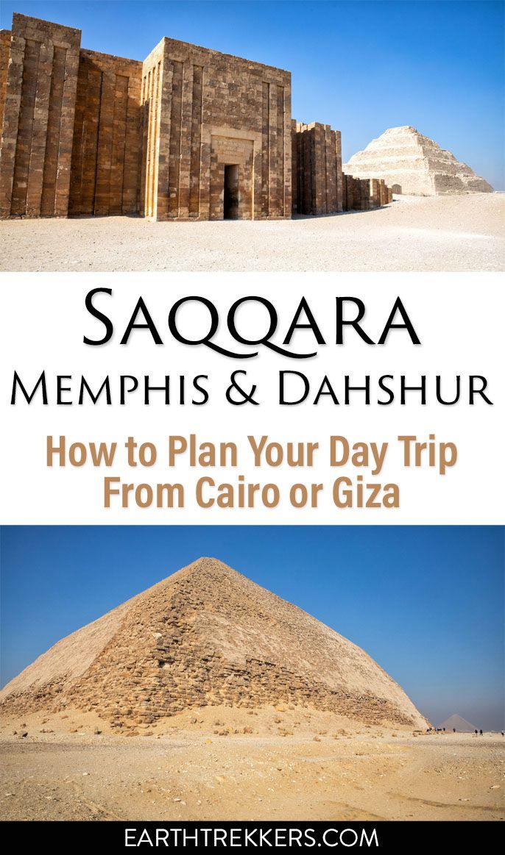 Saqqara Memphis Dahshur Egypt Day Trip