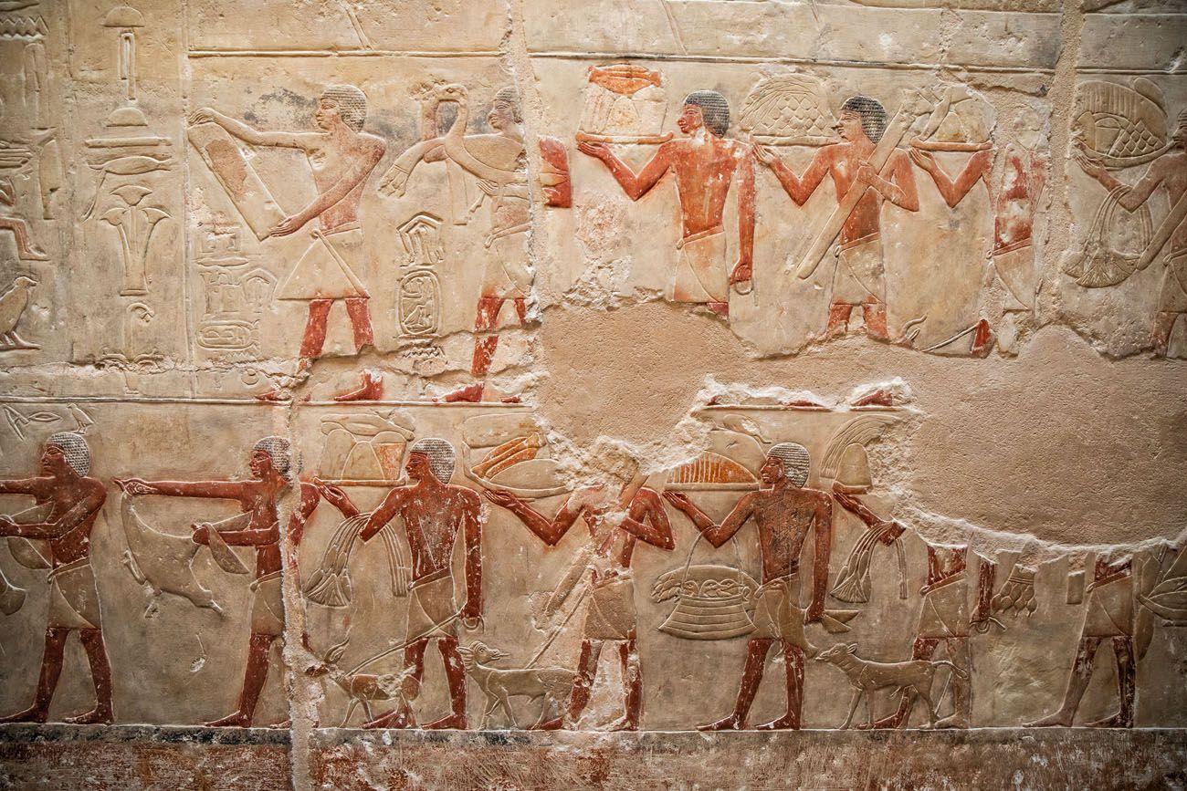 Saqqara Tomb Dahshur Memphis and Saqqara