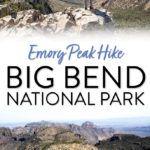 Big Bend National Park Emory Peak