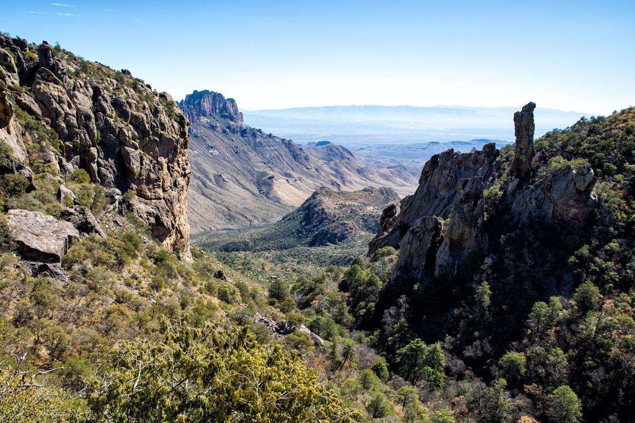 Boot Canyon Trail View