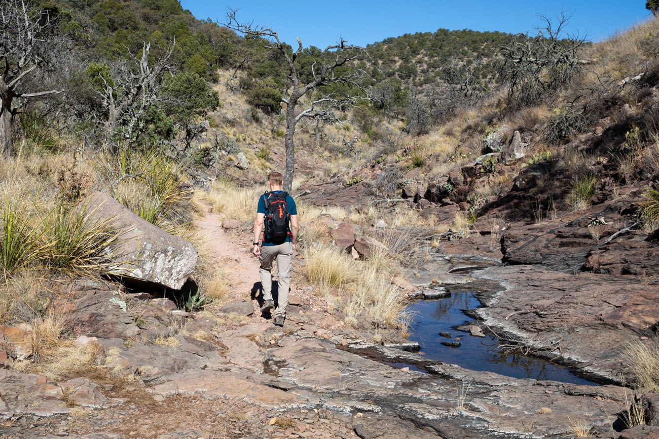 Boot Canyon Trail