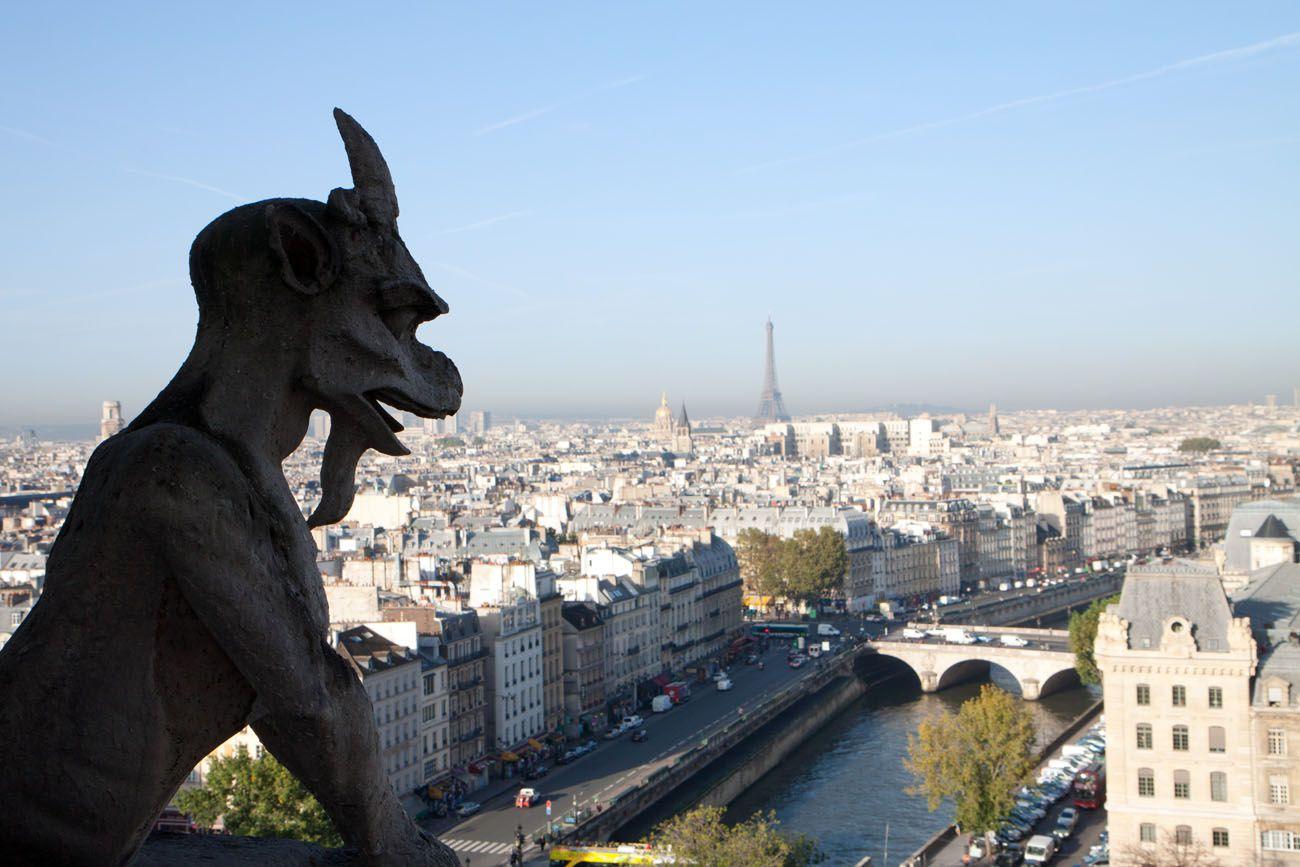 Gargoyle View of Paris
