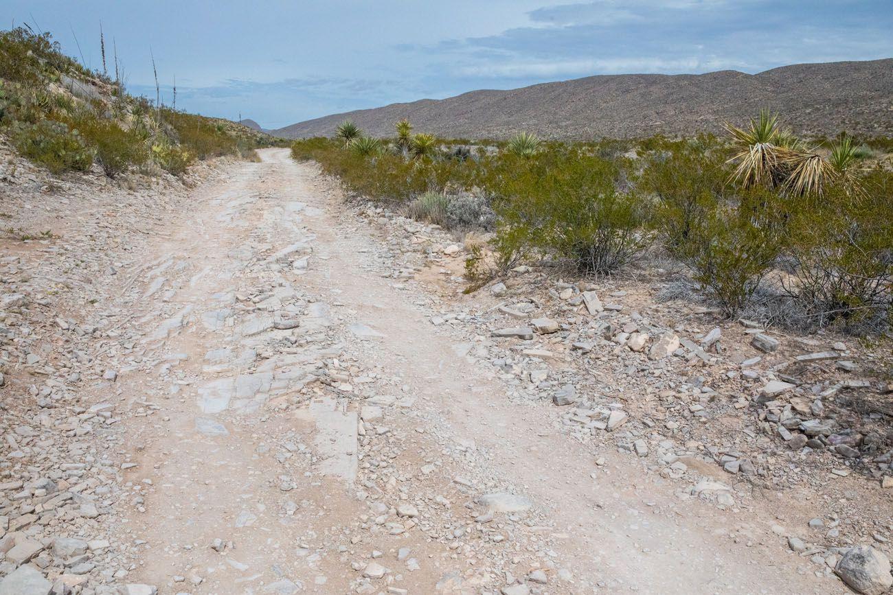 Old Ore Road Big Bend