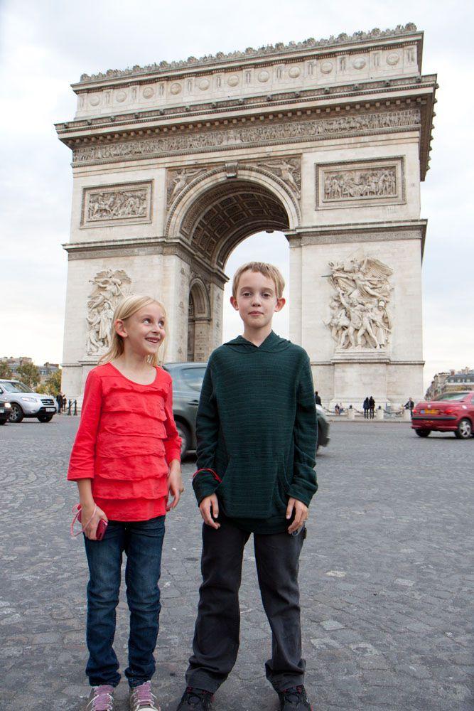Tyler and Kara in Paris