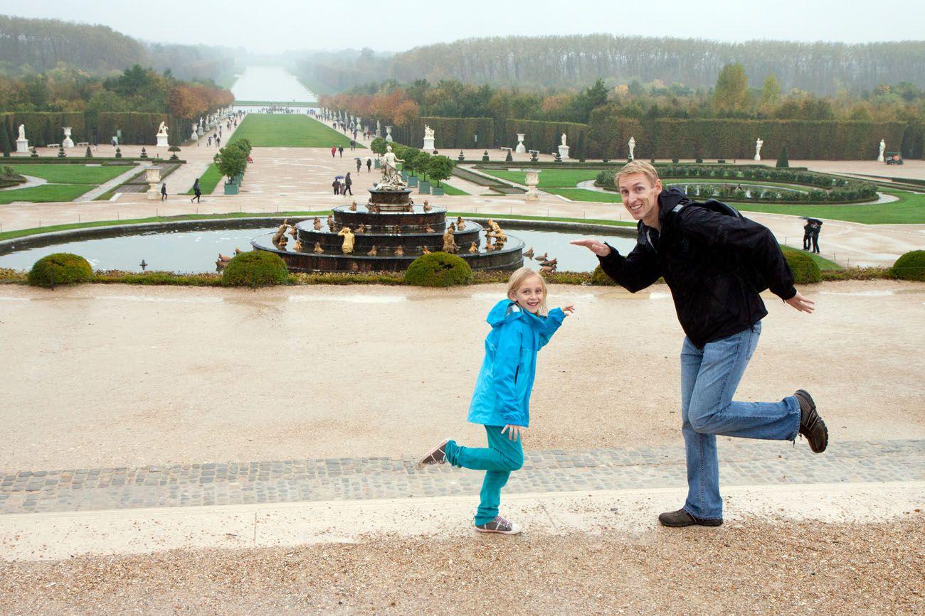 Versailles with Kids