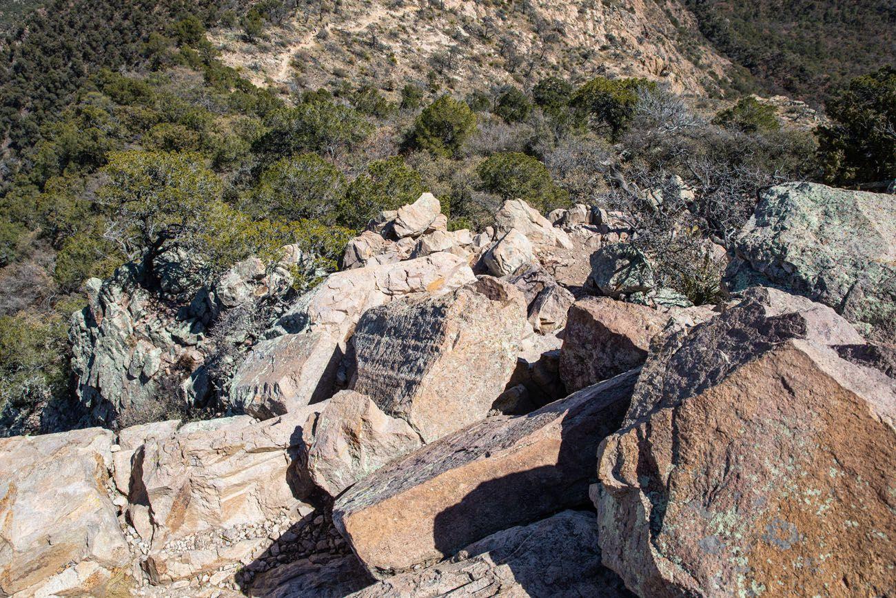 View of the Rock Scrambling