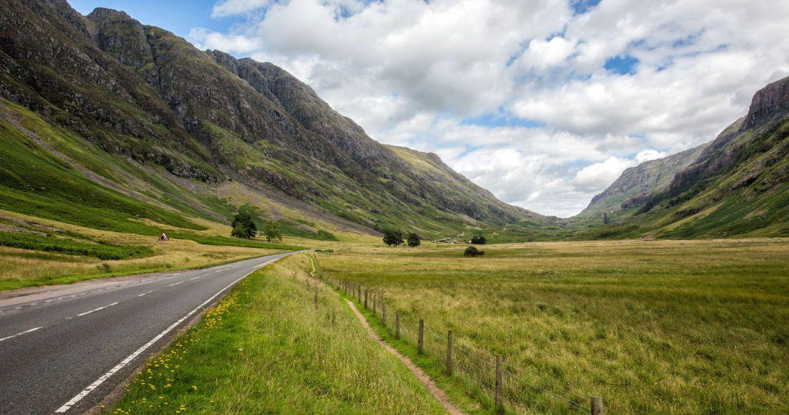 Driving to the Isle of Skye