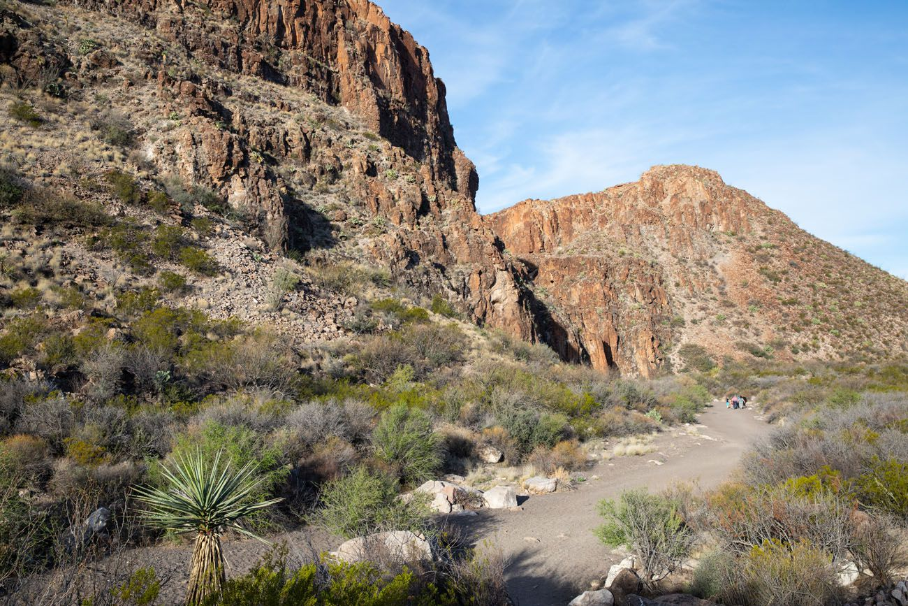First Part of Closed Canyon