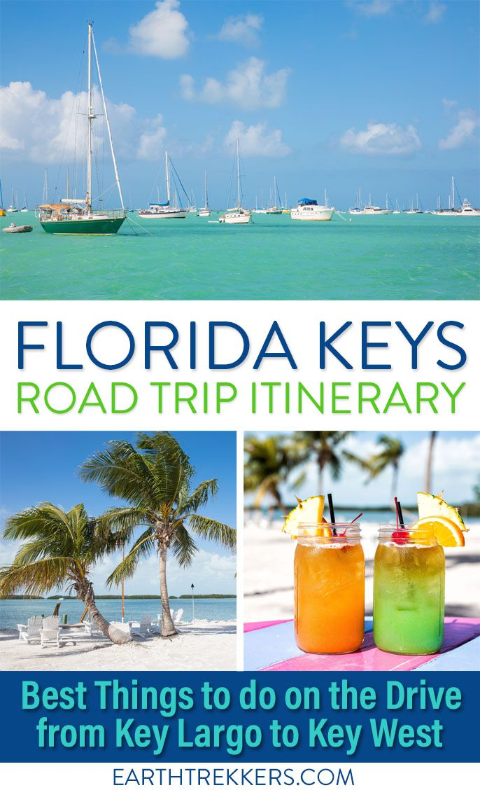 Florida Road Trip Itinerary Key West
