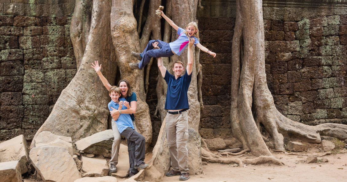 Earth Trekkers in Cambodia