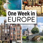 Europe Itinerary 7 Days
