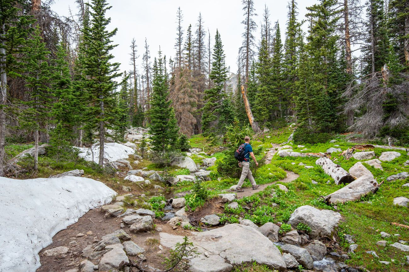 Hike RMNP in June