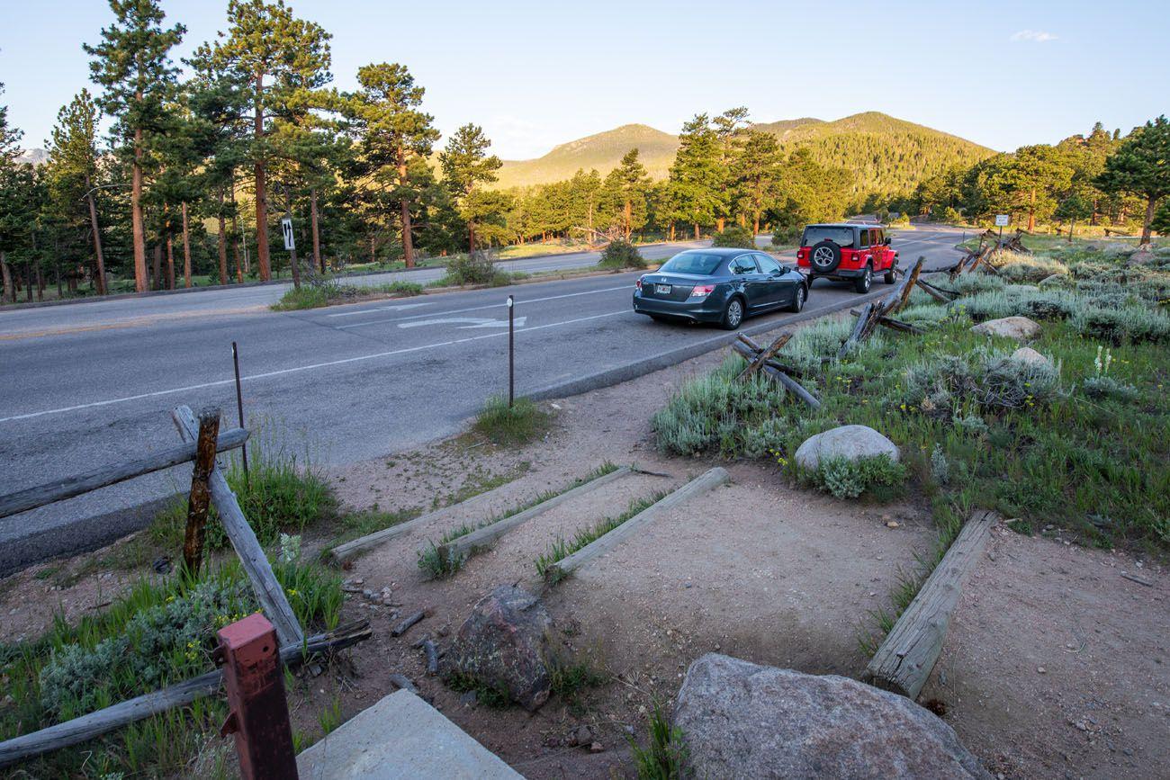 Deer Mountain Hike Parking Area