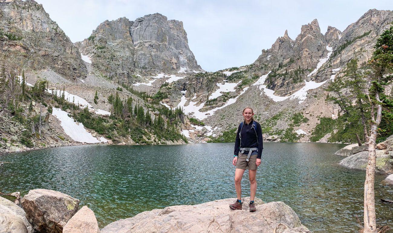 Kara at Emerald Lake