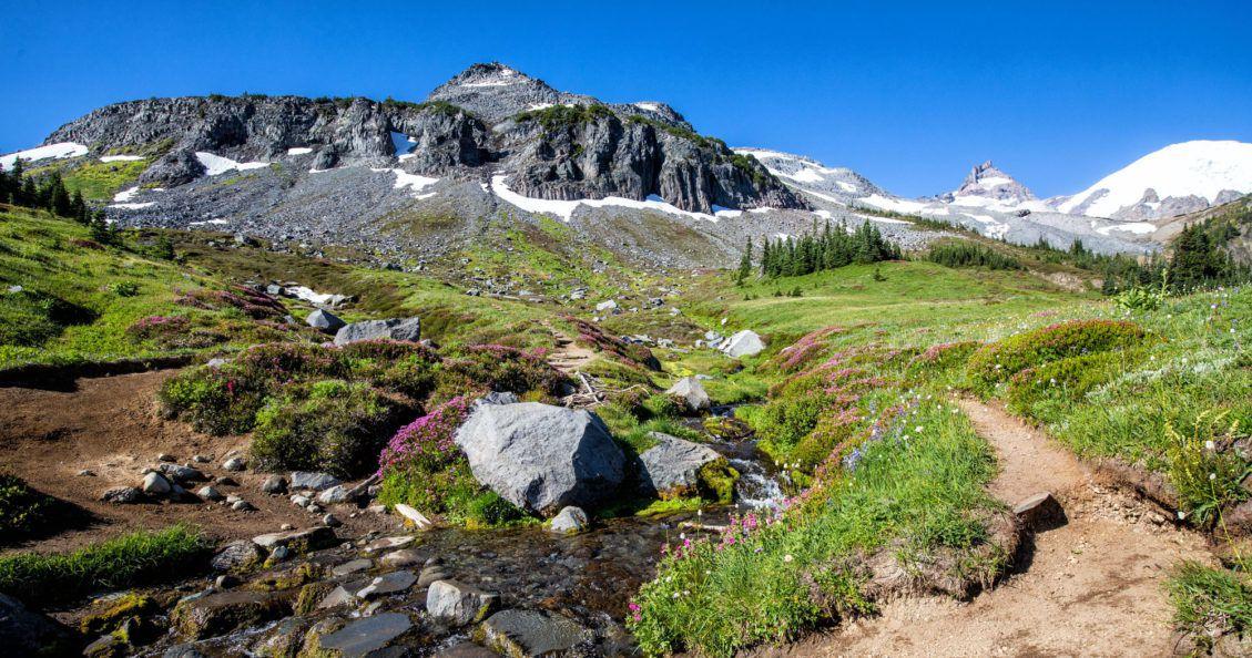 Summerland Hike to Panhandle Gap Photo