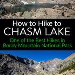 Chasm Lake Rocky Mountain National Park