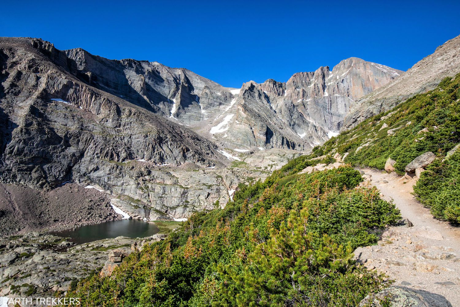 How to Hike to Chasm Lake