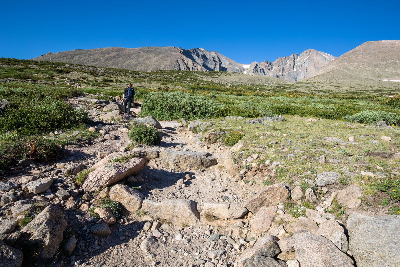 Rocky Trail to Chasm Lake