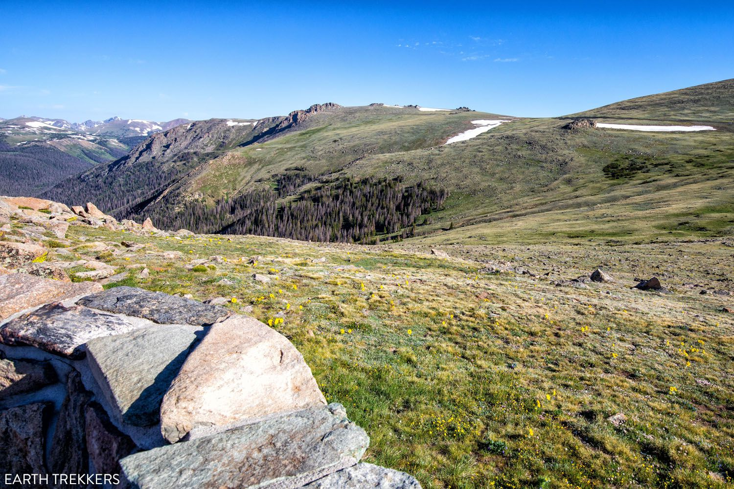 Alpine Trail Road View things to do in Rocky Mountain National Park