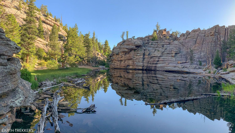 Gem Lake Rocky Mountain National Park itinerary