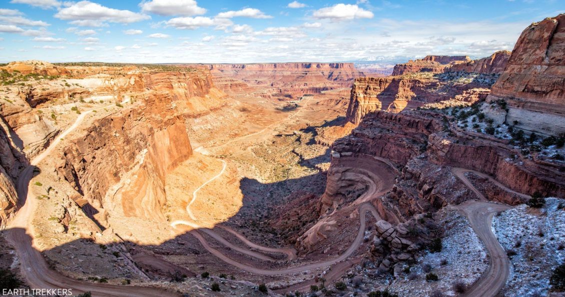 Shafer Canyon Road Guide