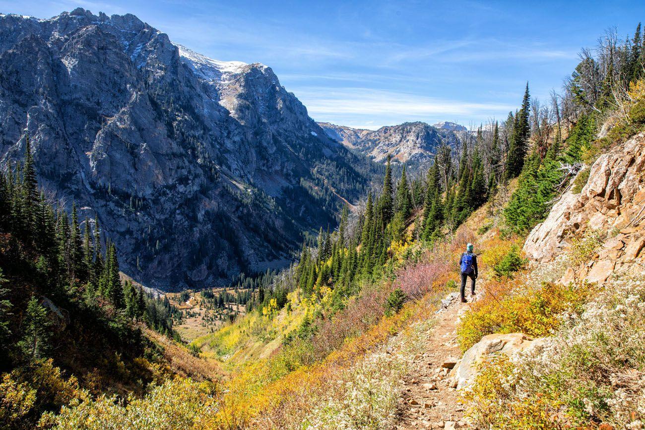 Hiking Grand Teton in September